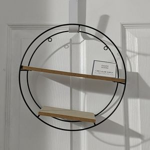 Cute Circular Wall Shelf